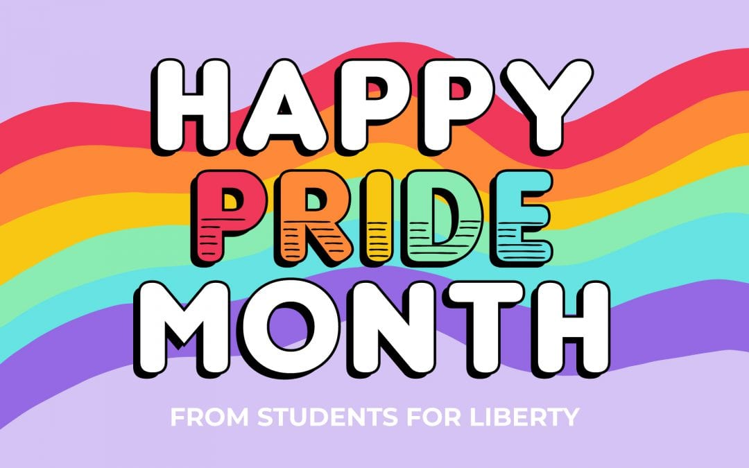 Happy Pride From Students For Liberty!