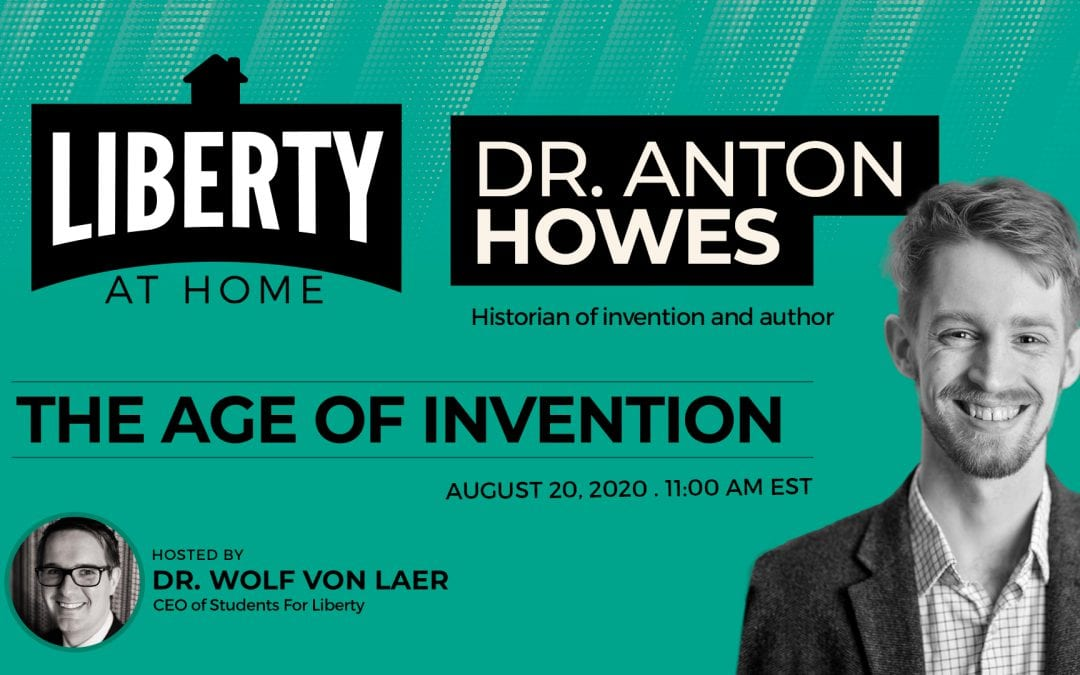 The Age of Invention with Dr. Anton Howes