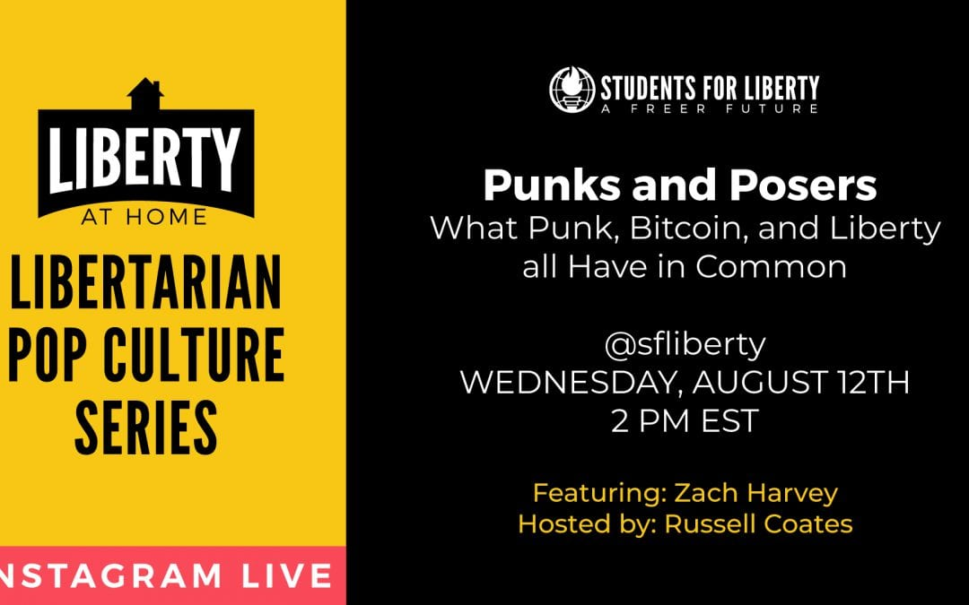 Punks and Posers: What Punk, Bitcoin, and Liberty all Have in Common