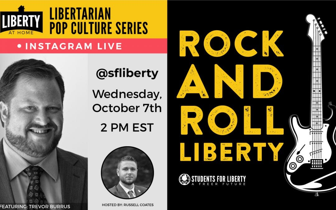 Rock and Roll Liberty, with Trevor Burrus