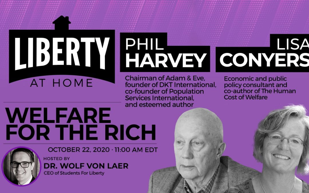 Welfare For the Rich, with Phil Harvey and Lisa Conyers