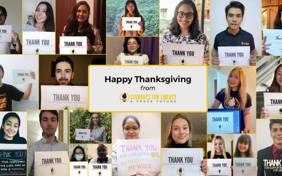 Our students are grateful for you this Thanksgiving