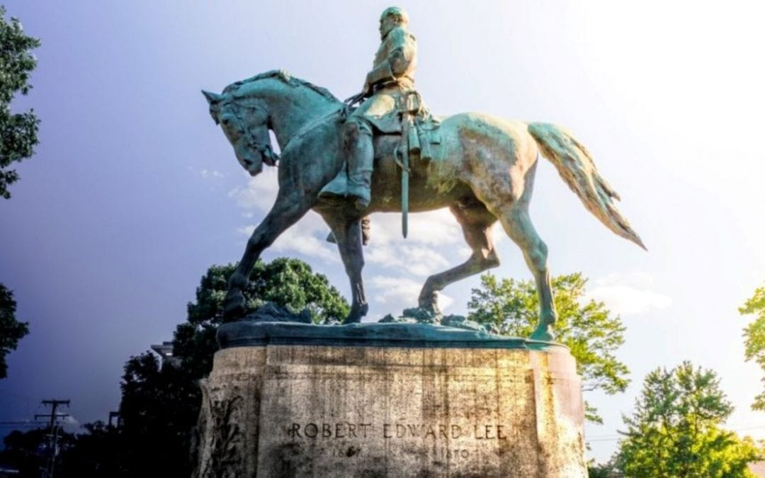 Confederate monuments and tinfoil Christmas trees