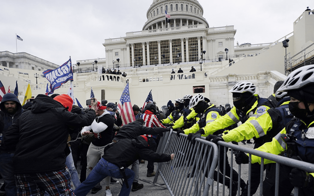 Capitol Hill rioters don't care about your liberty