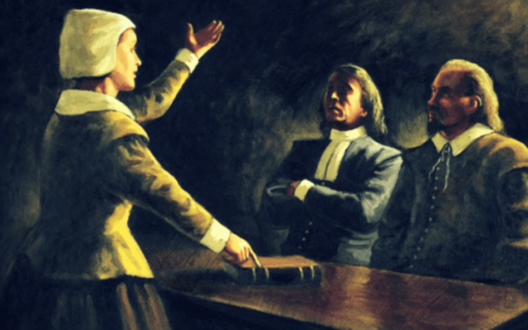 Anne Hutchinson and the spirit of religious liberty