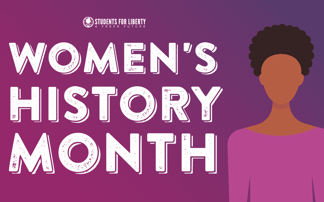 Women's History Month: Meet 12 women who've contributed to a freer future