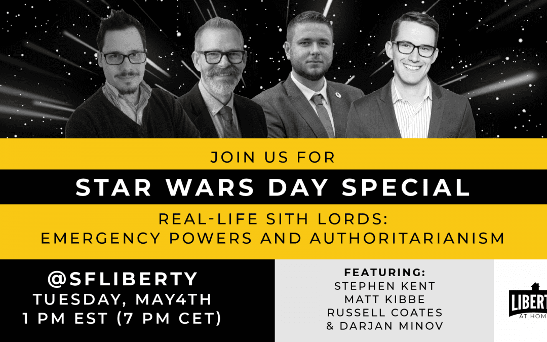 Join us on Instagram Live for a Star Wars Day special