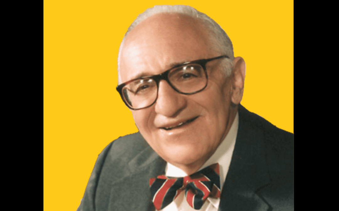 Murray Rothbard's unwavering commitment to peace